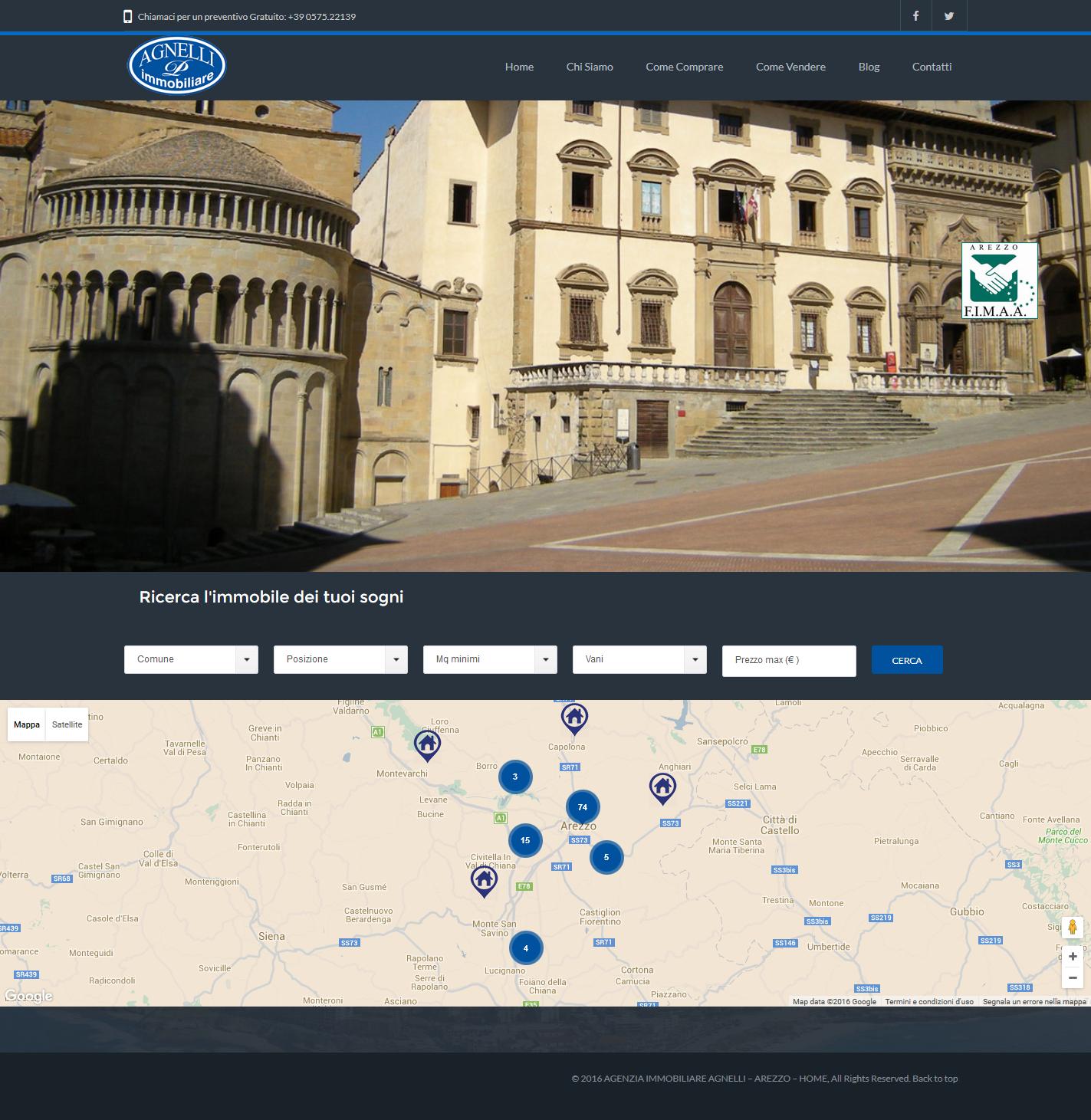 Agenzie Immobiliari Arezzo puntoweb snc – arezzo – siti web, e- commerce, seo, sem